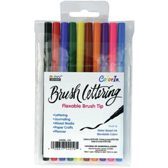 Uchida Brush Lettering Set 10 pack - Primary