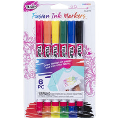 Tulip Sublimation Markers  6 pack  - Rainbow