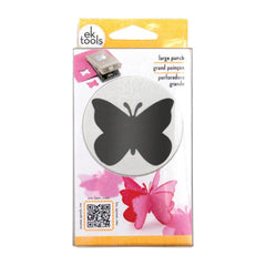 EK Success-Paper Shapers Large Punch - Butterfly, 1.75in