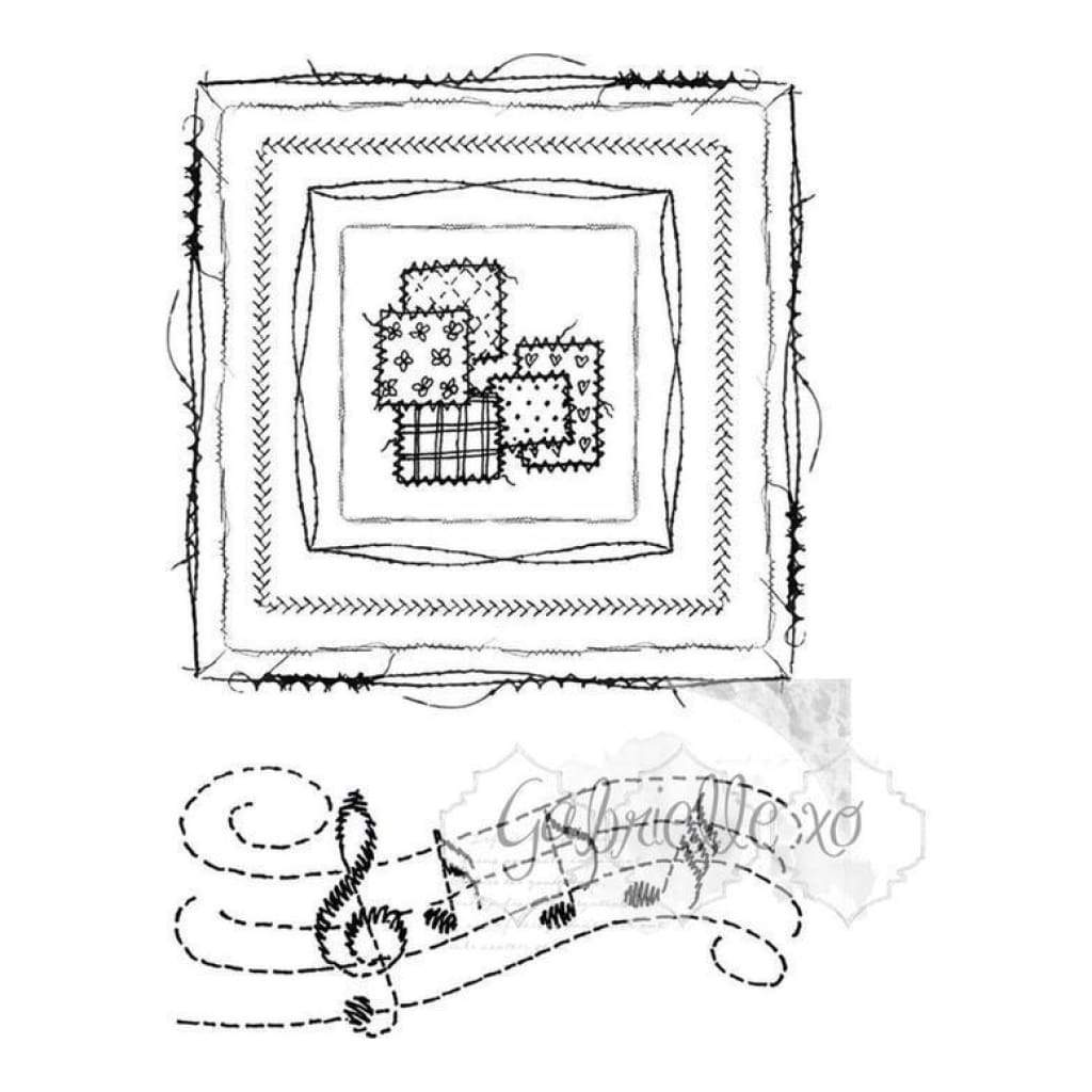 49 and Market Clear Stamp Set - Gabi's Square