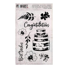 49 and Market Sweet Reflections Stamp Set Wedding Wishes