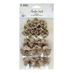 49 and Market Garden Seed Flowers .75in -1.5in 29 pack Linen