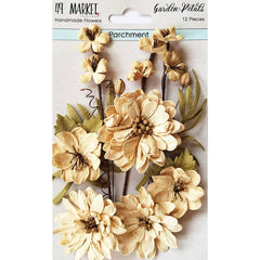 49 and Market Garden Petals 12 pack - Parchment