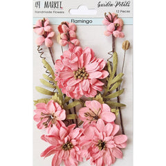 49 and Market Garden Petals 12 pack - Flamingo