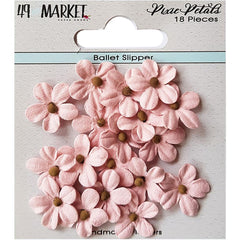 49 and Market Pixie Petals 18 pack - Ballet Slipper