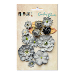 49 and Market Flower Embellishments - Country Blooms - Storm