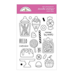Doodlebug Clear Doodle Stamps - Sweet Treats