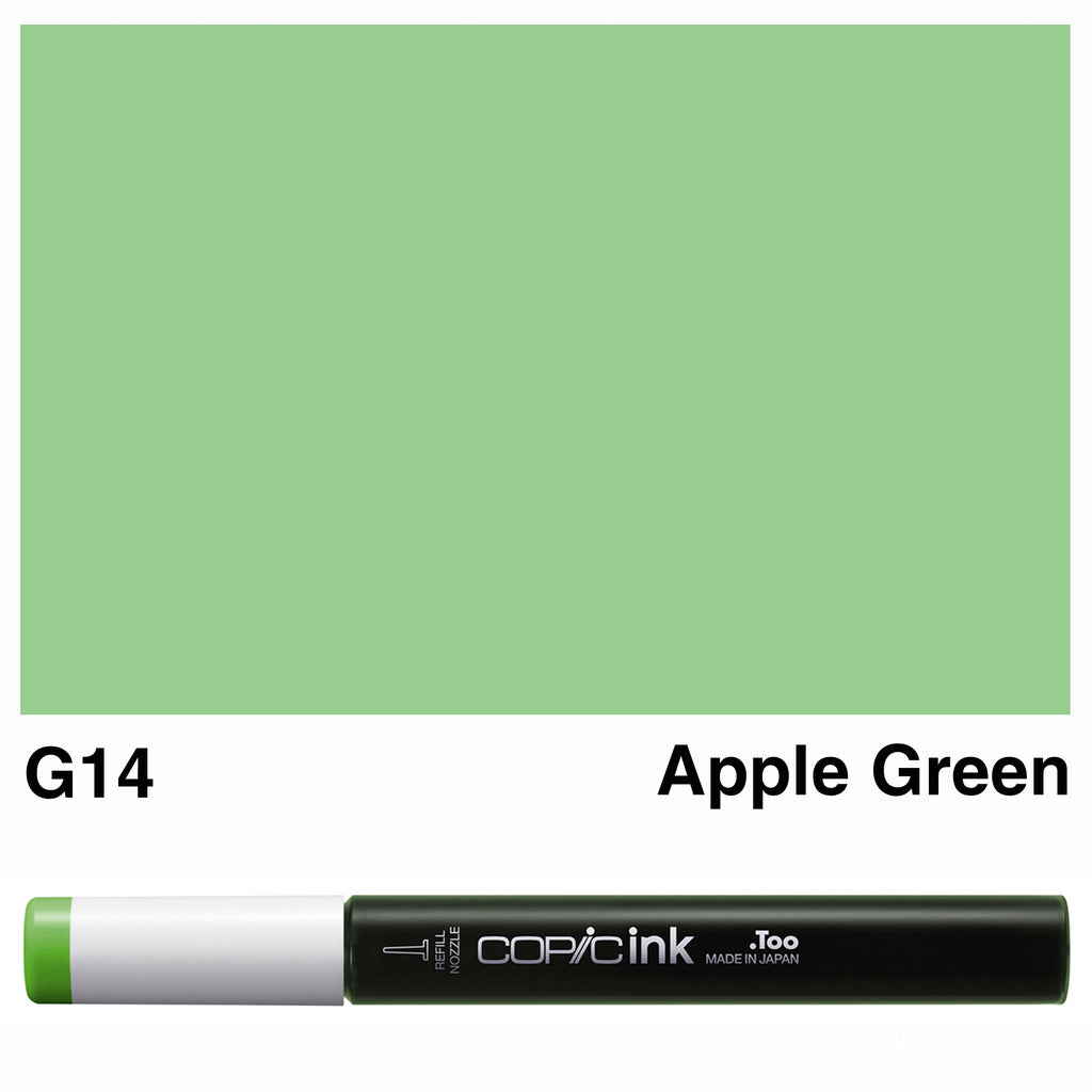 Copic Ink G14-Apple Green