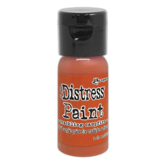 Tim Holtz Distress Paint Flip Top 1oz - Crackling Campfire