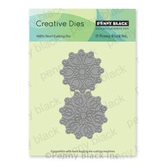 Penny Black Creative Dies - Polar Pair 4 inchX2.1 inch
