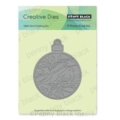 Penny Black Creative Dies - Bird Ornament 2.8 inchX3.6 inch