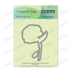 Penny Black Creative Dies - Dear Friend Cut Out 2.8in x 4in