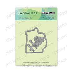 Penny Black Creative Dies - Snuggles Cut Out 2.5in x 2.9in