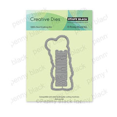 Penny Black Creative Dies - Fur-Ever Yours Cut Out 2.1in x 4in