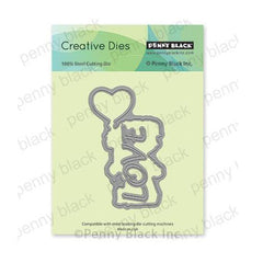 Penny Black Creative Dies - Little Charmer Cut Out 2.4in x 3.9in