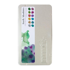 Tonic Studios Nuvo Watercolour Pencils 12 pack - Dark Shadows