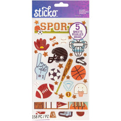 Sticko Stickers - Sports Flip Pack