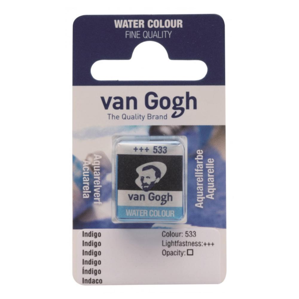 Talens - Van Gogh Watercolour half pan - INDIGO 533