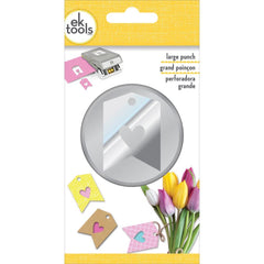 EK Tools Large Double Punch Heart Tag