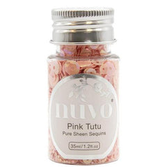 Tonic Studios - Nuvo Pure Sheen Sequins 1.2oz - Pink Tutu