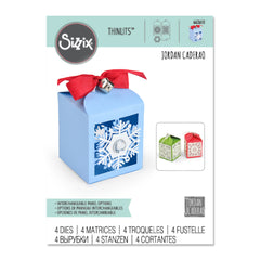 Sizzix - Thinlits Dies By Jordan Caderao - Snowflake Favor Box