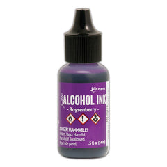 Tim Holtz Alcohol Ink .5oz - Boysenberry