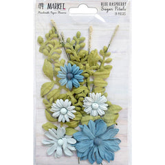 49 And Market Sugar Petals - Blue Raspberry