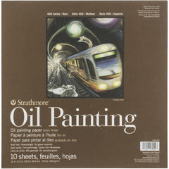 Strathmore 400 Series Oil Painting Pad 12in x 12in  10 Sheets