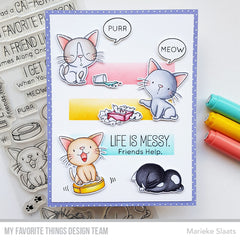 My Favorite Things Birdie Brown Stamps 4in x 8in - Cat-Astrophe