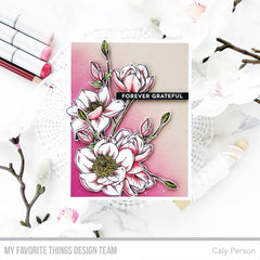 My Favorite Things Cling Rubber Stamps Magnolia Blossoms