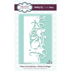 Creative Expressions Paper Cuts Edger Craft Dies - Winter Fox