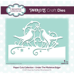 Creative Expressions Paper Cuts Edger Craft Dies - Under The Mistletoe