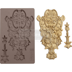 Re-Design Mold 5inch X8inch X8mm - Garden Emblem