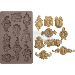 Re-Design Mold 5inch X8inch X8mm - Grandeur Keyholes