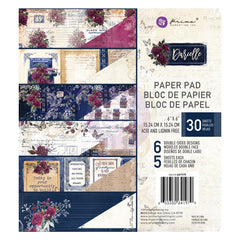 Prima Marketing - Double-Sided Paper Pad 6inch X6inch 30 pack - Darcelle, 6 Designs/5 Each