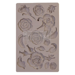 Re-Design Mold 5in x 8in x 8mm - Fragrant Roses