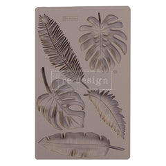 "Re-Design Mold 5""X8""X8mm - Monstera"