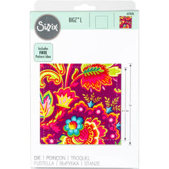 Sizzix Bigz Dies Fabi Edition L Die - Square 4.5inch Finished