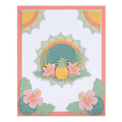Sizzix Thinlits Die Set 15 Die Set - Tropical Elements by Courtney Chilson