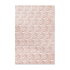 Sizzix 3-D Textured Impressions Embossing Folder - Geometric Lattice by Jessica Scott