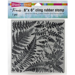 Stampendous Cling Stamps Fern Garden