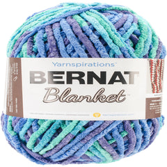 Bernat Blanket Big Ball Yarn - Ocean Shades 300g