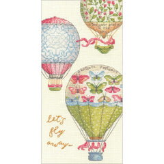 Dimensions Counted Cross Stitch Kit 4inch X8inch Lets Fly Away (18 Count)