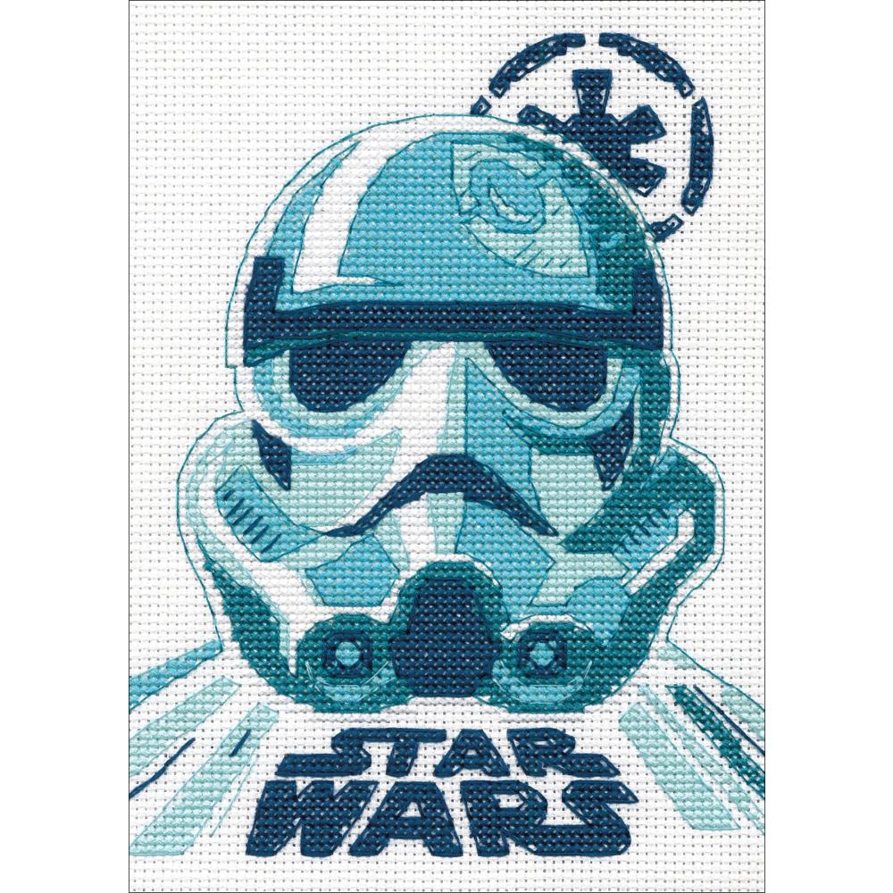Dimensions Star Wars Counted cross-stitch Kit 5in x 7in Stormtrooper (14 counts)