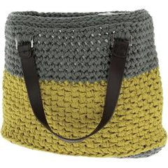 Hoooked Valencia Bag Kit with Ribbon XL Yarn - Dried Herb