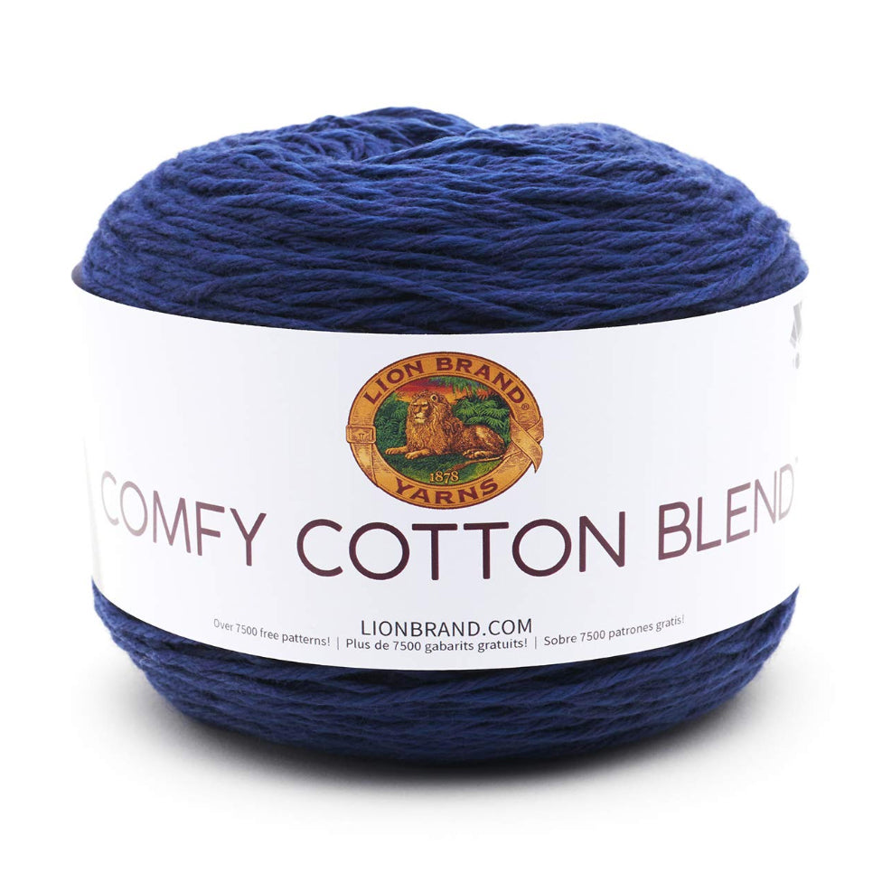 Lion Brand - Comfy Cotton Blend Yarn - Spectrum - 7oz/200g