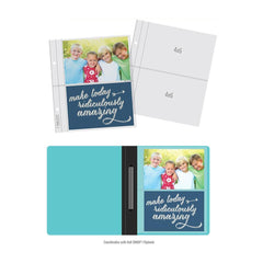 Simple Stories Sn@p! Pocket Pages For 6in x 8in Flipbooks - 10 pack  (2) 4in x 6in Pockets