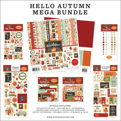 Carta Bella Mega Bundle Collection Kit 12in x 12in - Hello Autumn