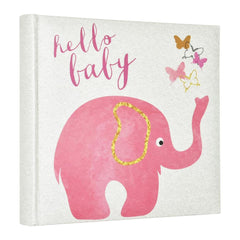 MBI 2-Up Photo Album 9.5inch X8.5inch Pink Elephant
