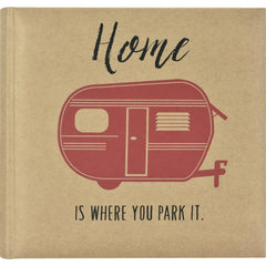 MBI 2-Up Photo Album 9.5inch X8.5inch Home Is Where You Park It.